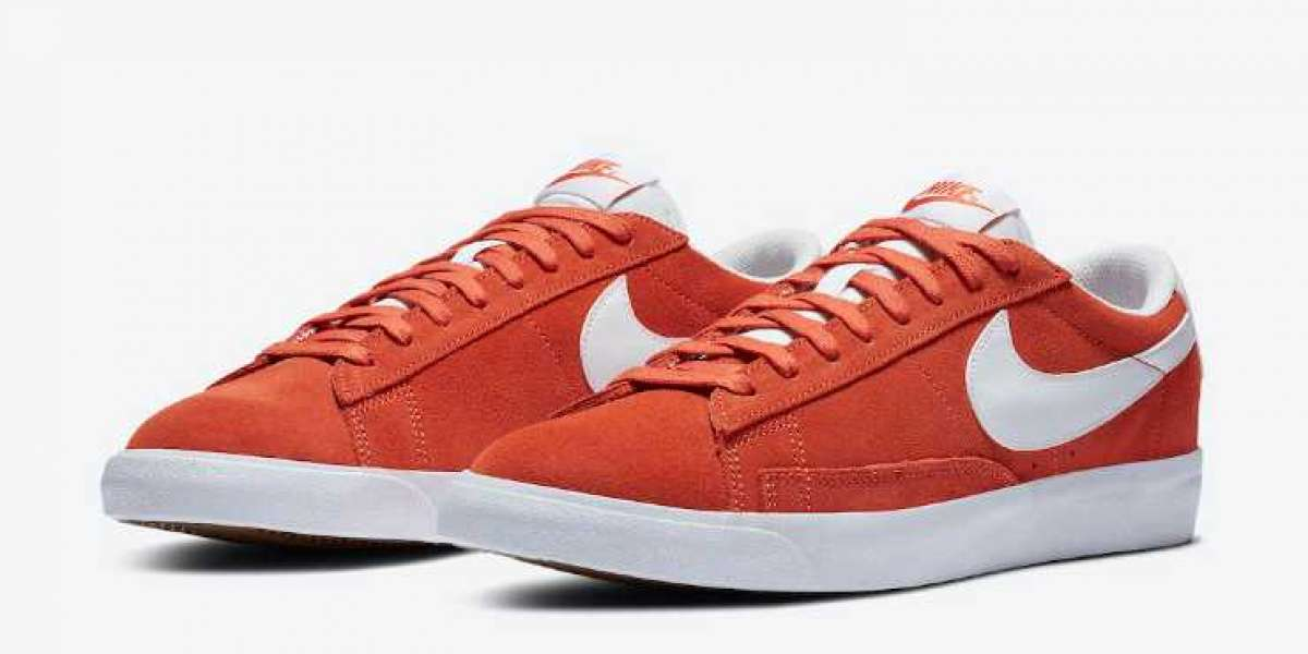 Best Selling Nike Blazer Low Mantra Orange is Available Now