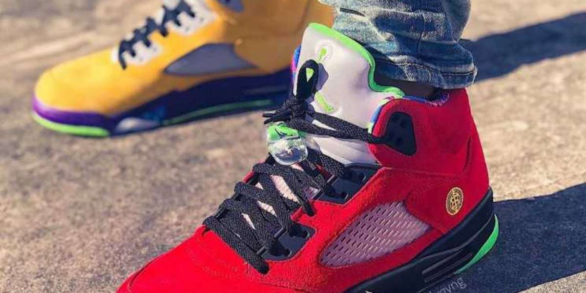 How The 2020 Air Jordan 5 What The Looks On-Feet
